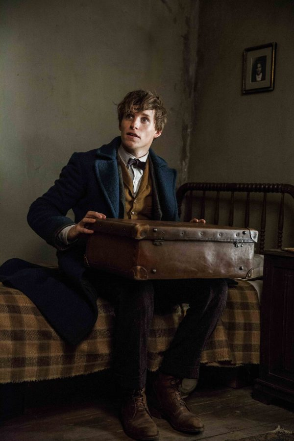 EDDIE REDMAYNE as Newt Scamander in Warner Bros. Pictures fantasy adventure FANTASTIC BEASTS AND WHERE TO FIND THEM, a Warner Bros. Pictures release.