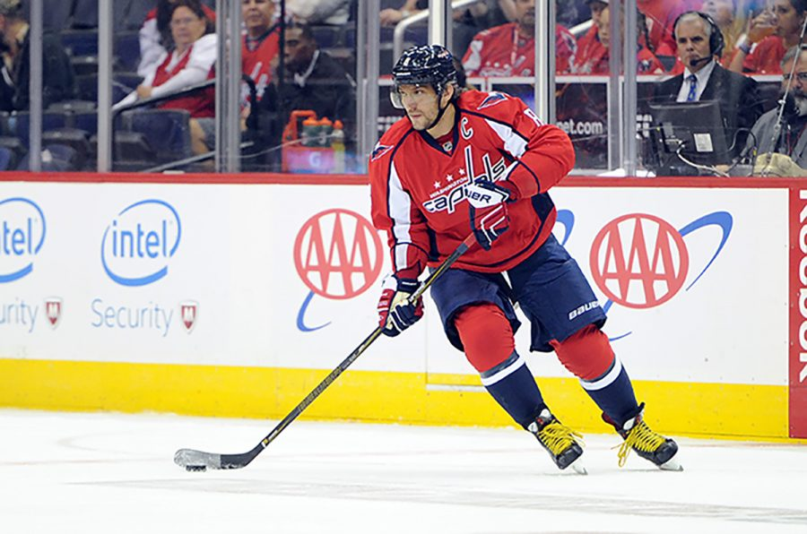Alexander+Ovechkin+is+a+five+time+All-Star+and+the+winner+of+the+Maurice+Richard+Trophy+%28most+goals+in+a+season%29+for+the+sixth+time