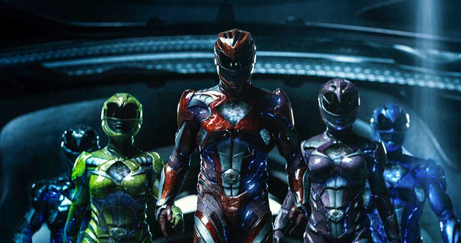 The new group of Power Rangers that will be starring in the upcoming film