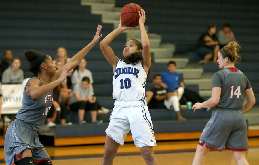 Destiny+Castro+has+been+named+PacWest+Freshman+of+the+Week+five+times.+