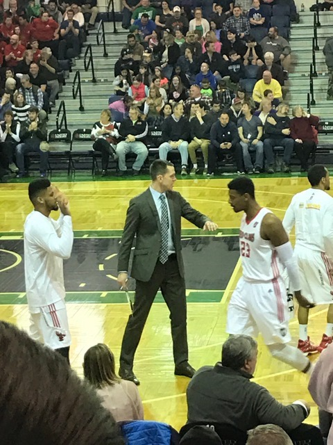 Dan Wendt is in his first year as an assistant coach with the Maine Red Claws in the NBA D-League.
