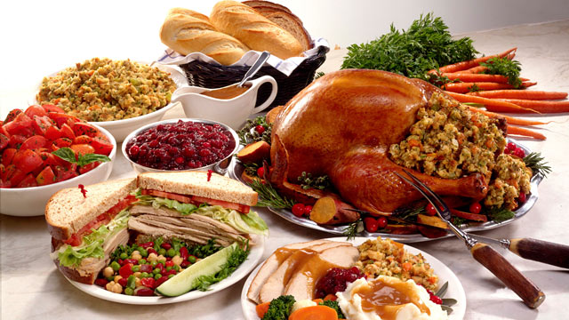 Thanksgiving+is+a+time+to+feast+with+family+and+friends+and+bond.+