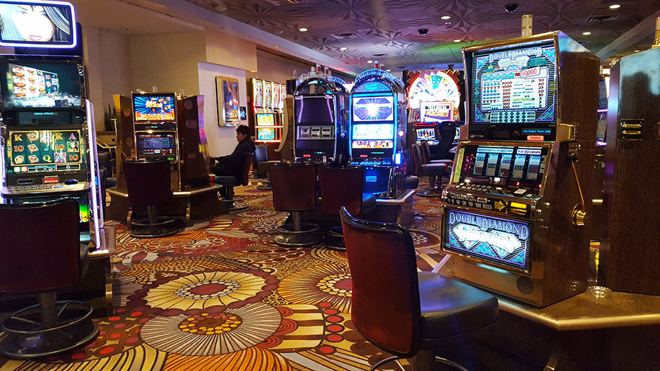Everything in a casino is designed to catch your attention and draw you in.