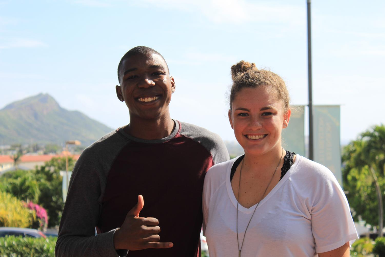 Antonio Bonnetty was voted as Chaminade's student body president with Claire Riggan as his running mate.