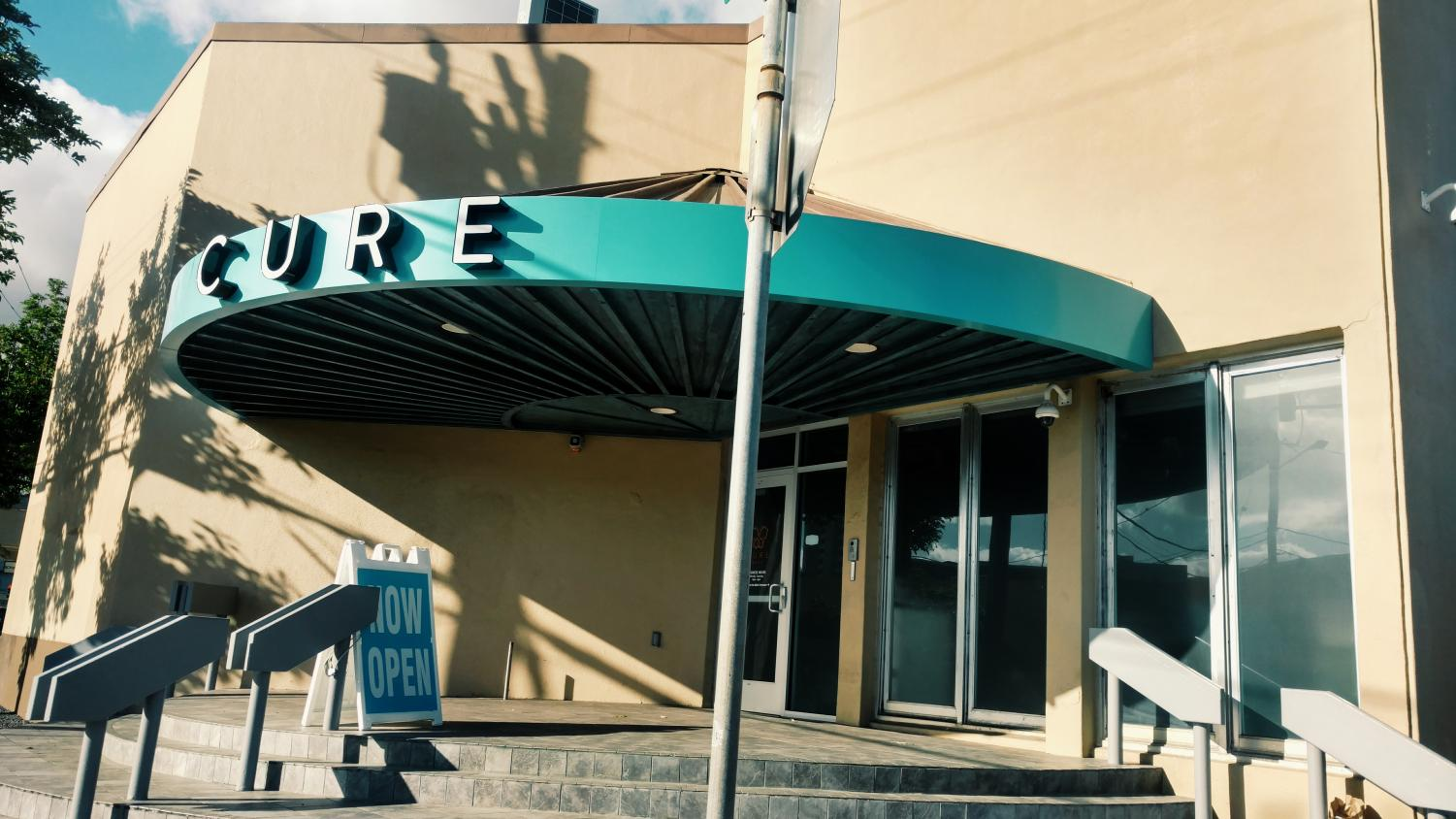Cure is one of Honolulu's few medicinal dispensaries.