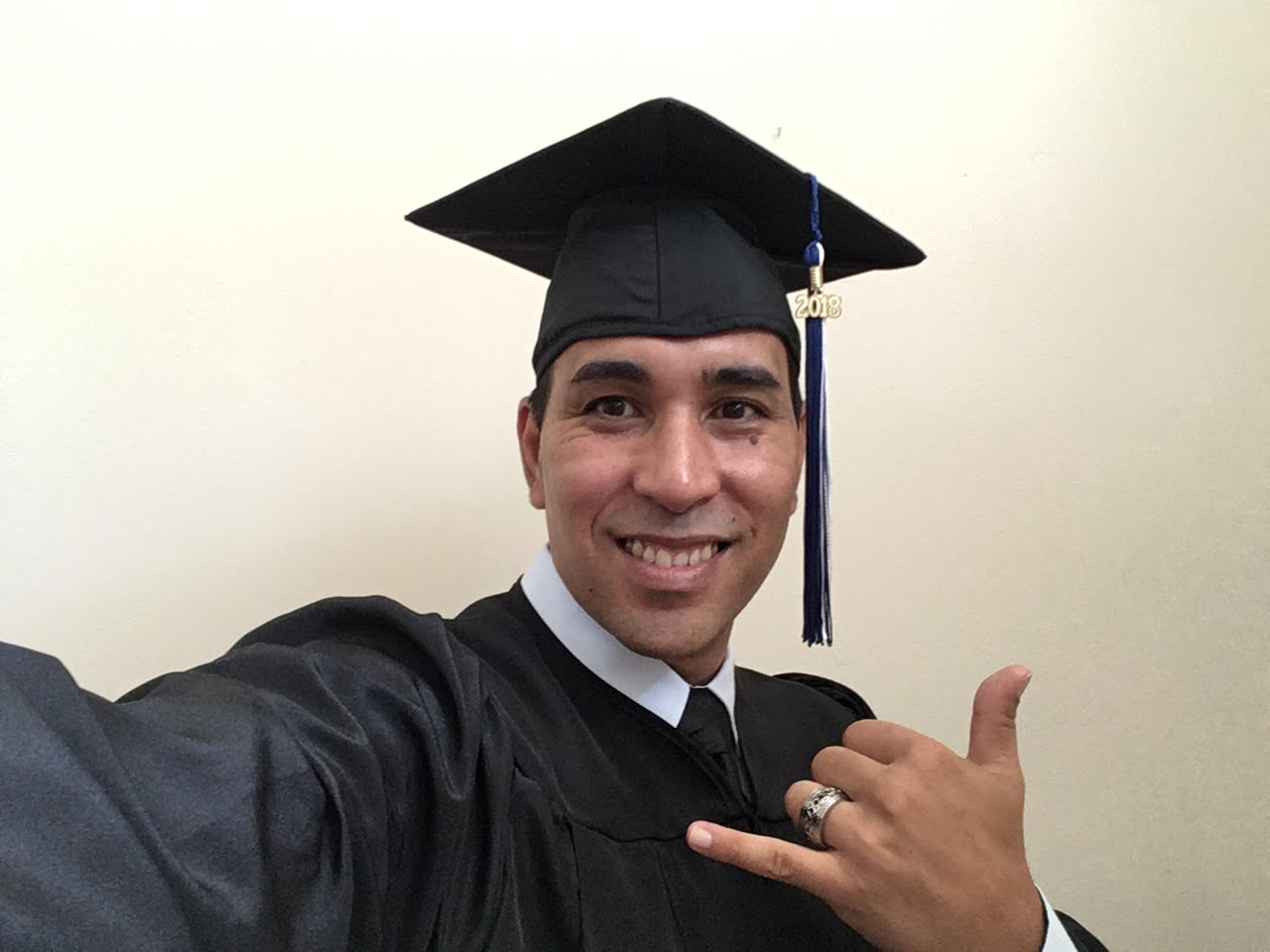 Joseph (Keahi) Carrero has been chosen as the Spring 2018 undergraduate commencement speaker.
