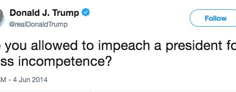 Opinion: Trump's Tweeting Sullies the Presidency
