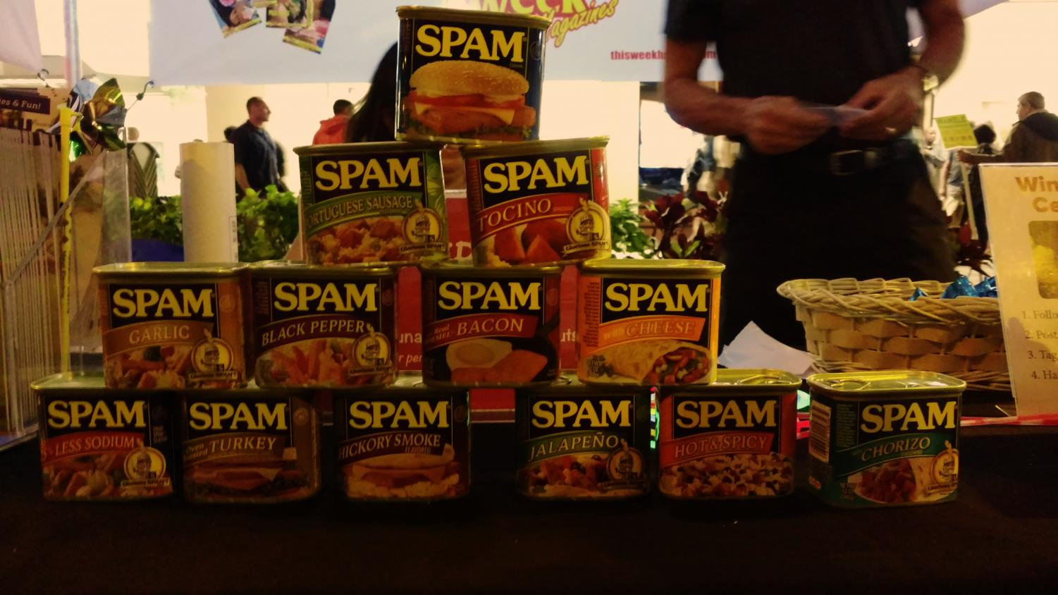 Here are the many flavors of Spam.