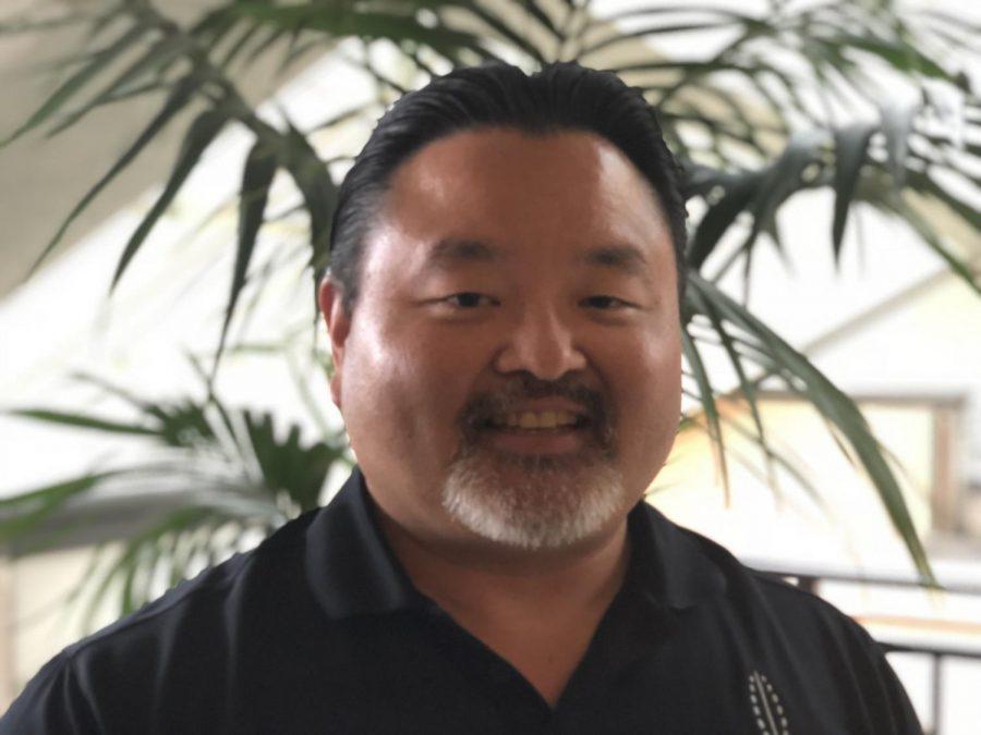 Darron+Iwamoto+has+been+teaching+at+Chaminade+from+2008.+Photo+courtesy+of+Darron+Iwamoto+