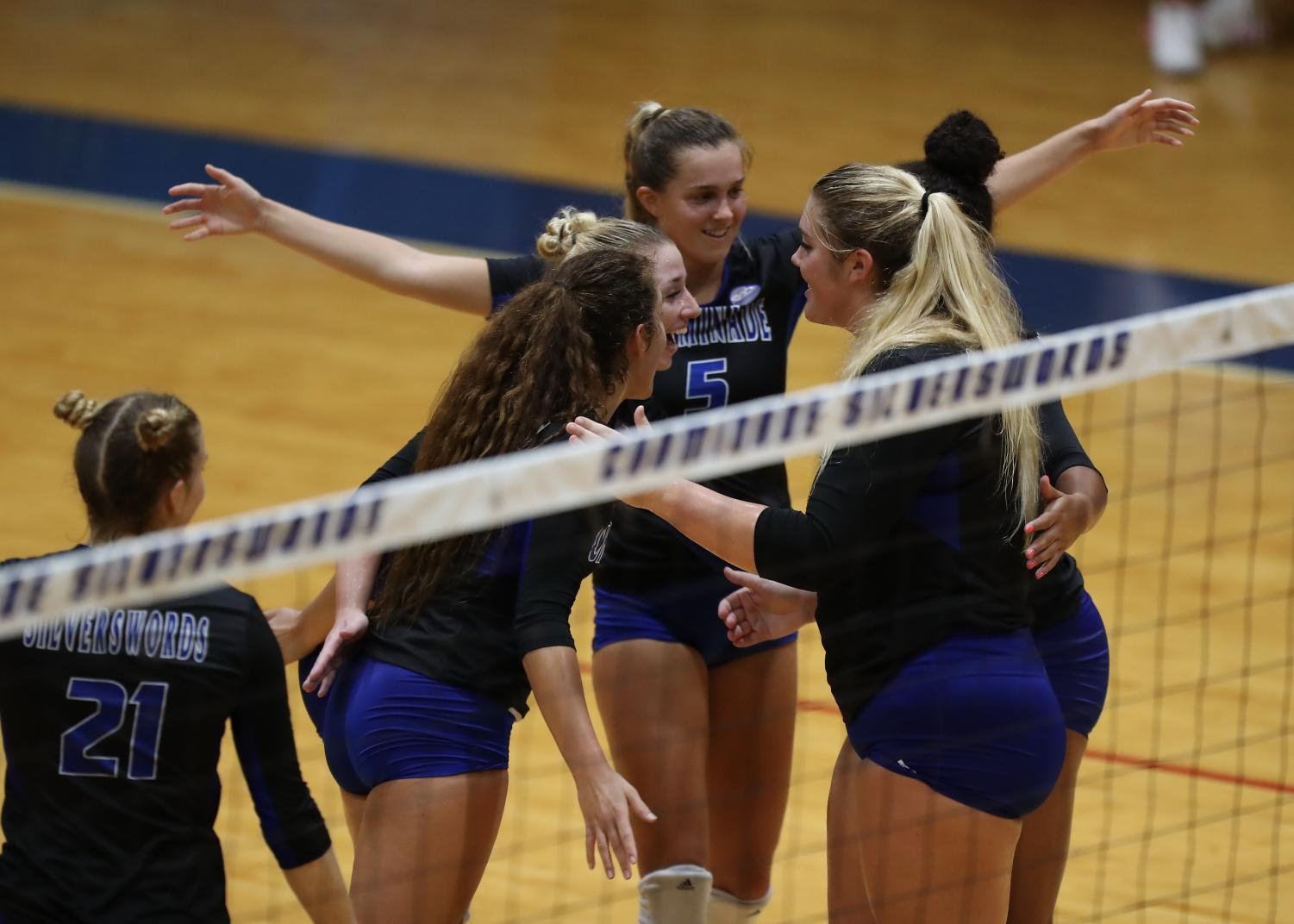 The CUH women's volleyball team is poised to make history this weekend.