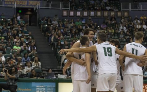 Hawaii Men's Volleyball Sweeps Stanford