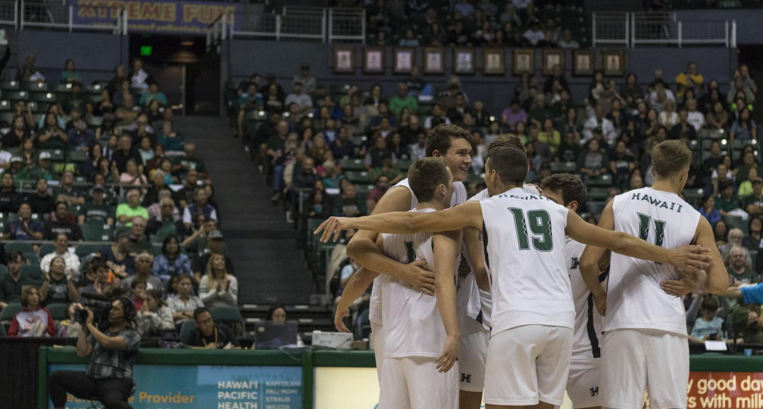 The 2nd-ranked UH men's volleyball team cruised to a sweep of Stanford on Super Bowl Sunday.