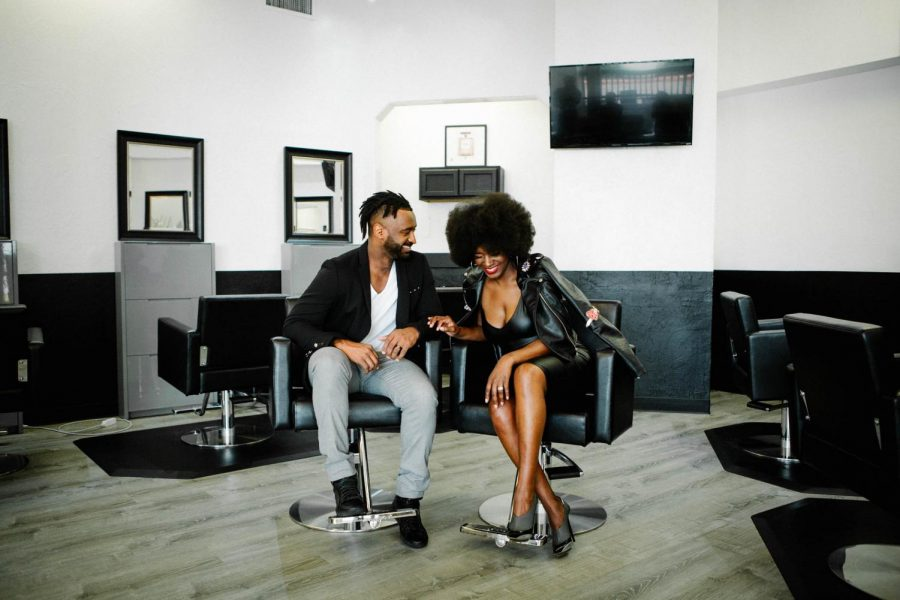Salon MeAmoure owners Ebony and Jeremy Lewis