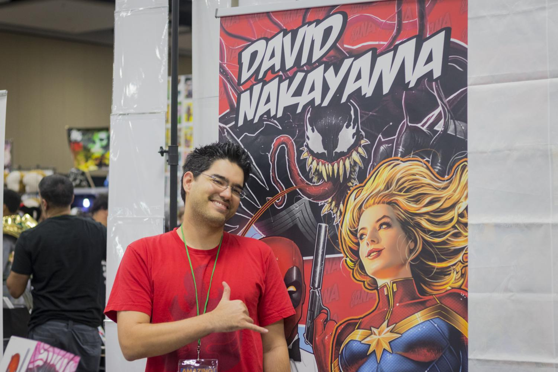 David Nakayama, at the 'Amazing! Comic Con Aloha'.