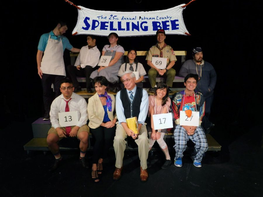 """The 25th Annual Putnam County Spelling Bee"" Cast"