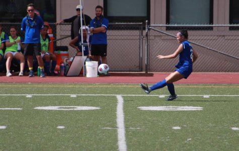 Women's Soccer Senior Defends Till the End