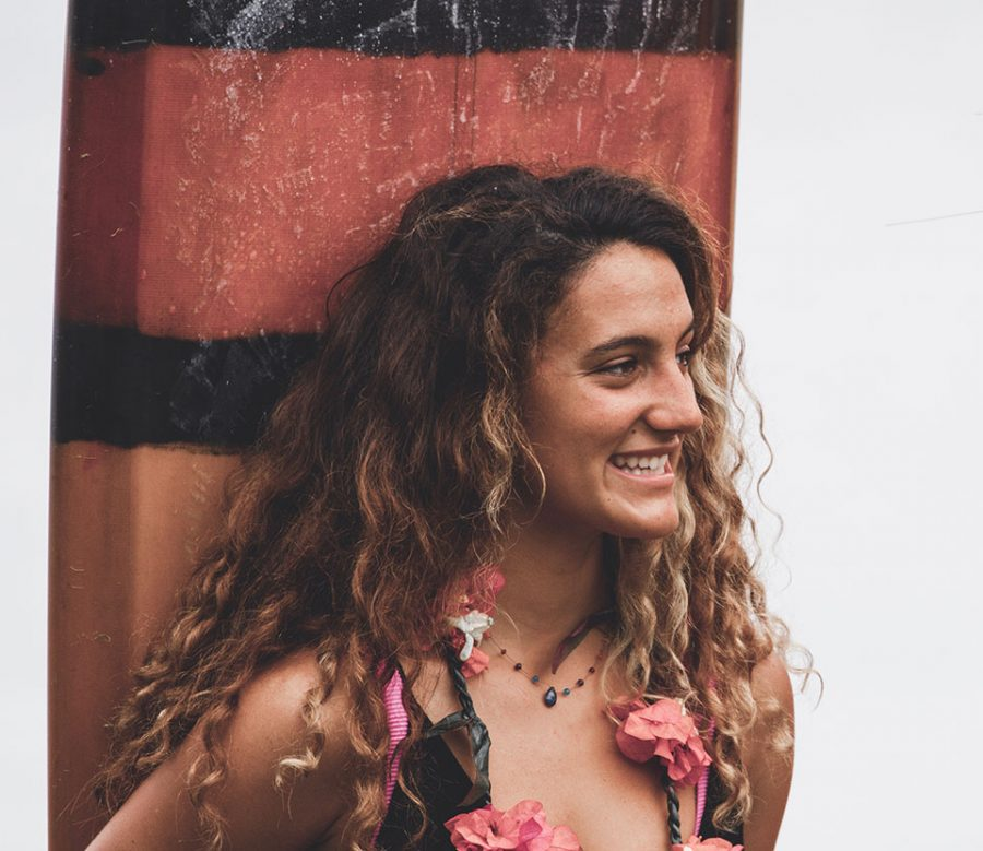 Professional surfer and UH-Monoa student Kelta O'Rourke competes and makes it big.