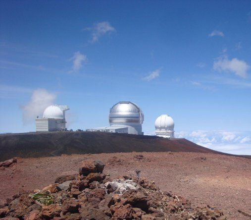 There are 13 working telescopes at the summit of Mauna Kea, making it one of the top observatory sights in the world.