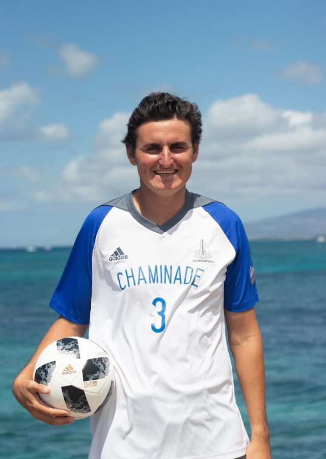 Curtis Coburn is a defender for the Chaminade men's soccer team and has entered his senior season as a fourth year starter.
