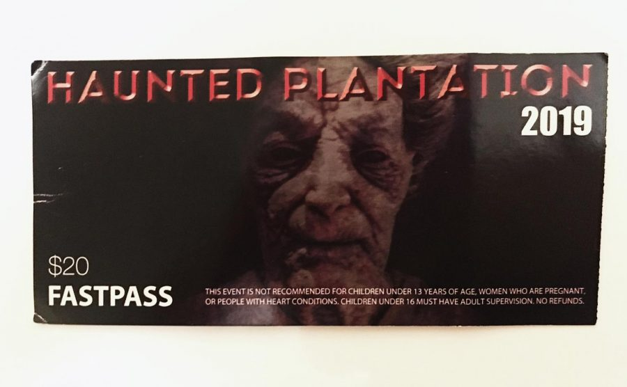 The Haunted Plantation fastpass makes for a much more satisfying experience.