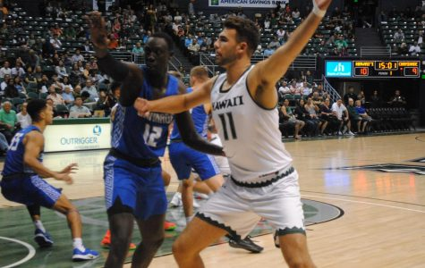 Swords Fall Short on Boards to UH