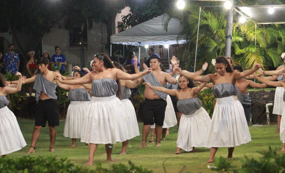 After months of practice, the Hawaiian Club gives their all during their PIR performance.