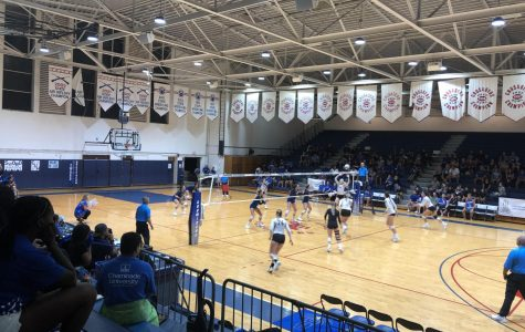CUH Volleyball Splits Tough Weekend Matches