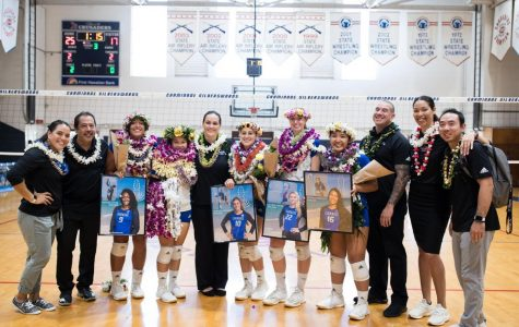 CUH Women's Volleyball Ends Season With Win