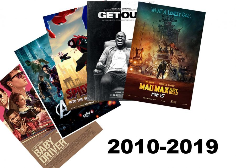 With the decade coming to an end, it is time to look back at a few of my favorite movies during the decade.