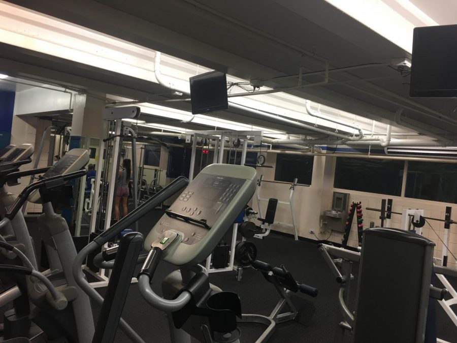 Chaminade+University%27s+Carlson+Fitness+Center+is+nearly+empty+on+Jan.+17%2C+despite+the+common+New+Year%27s+resolutions+to+%22go+to+the+gym%22.