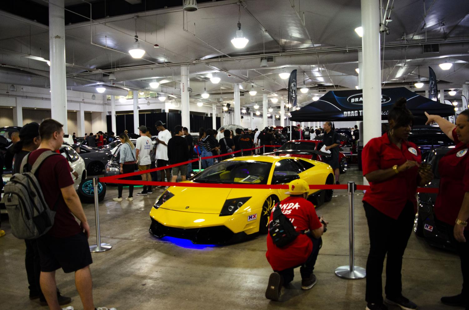 Wekfest car show at Blaisdell Center on Saturday featured Lamborghinis and more.