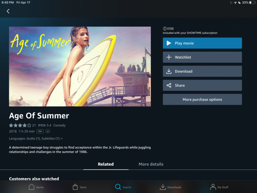 Age of Summer is a great feel-good movie to watch on the days when you need a little extra help getting out of a funk.