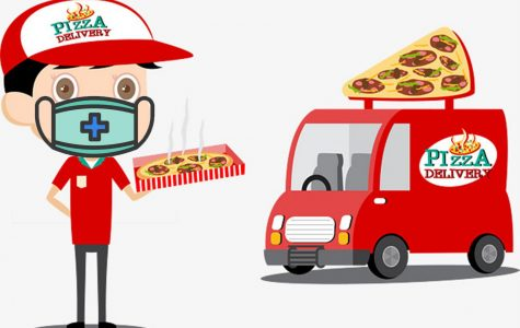 With the recent events of Covid-19 many food delivery drivers must change their delivering ways to ensure social distancing.