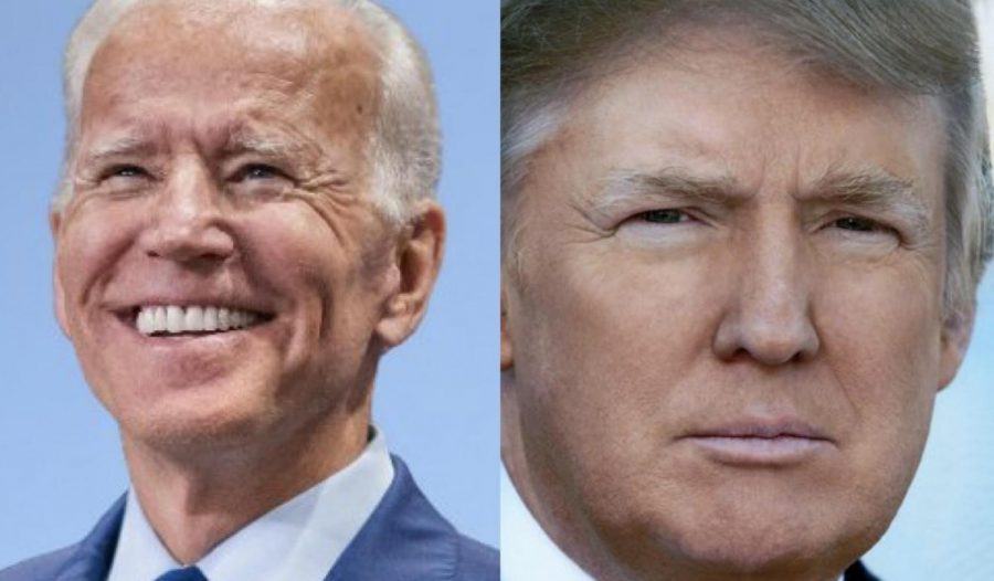In an unscientific poll, 23 out of 25 people on Chaminade campus prefer Biden over Trump.