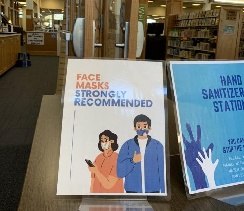 "Sump Memorial Library is a public library, since the city of Papillion lacks a mandate on masks, the library is open to maskless citizens although they ""strongly reccommend,"" they be worn."