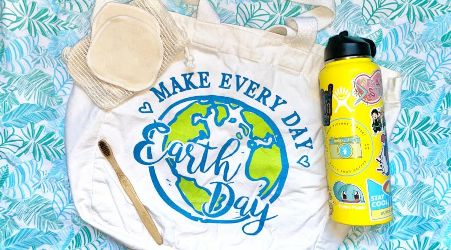Incorporating reusable items or items made from sustainable materials into daily life is a solid step in reducing one's carbon footprint.