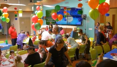 Families and volunteers celebrated the holiday during the 2018 Keiki Club Halloween event.